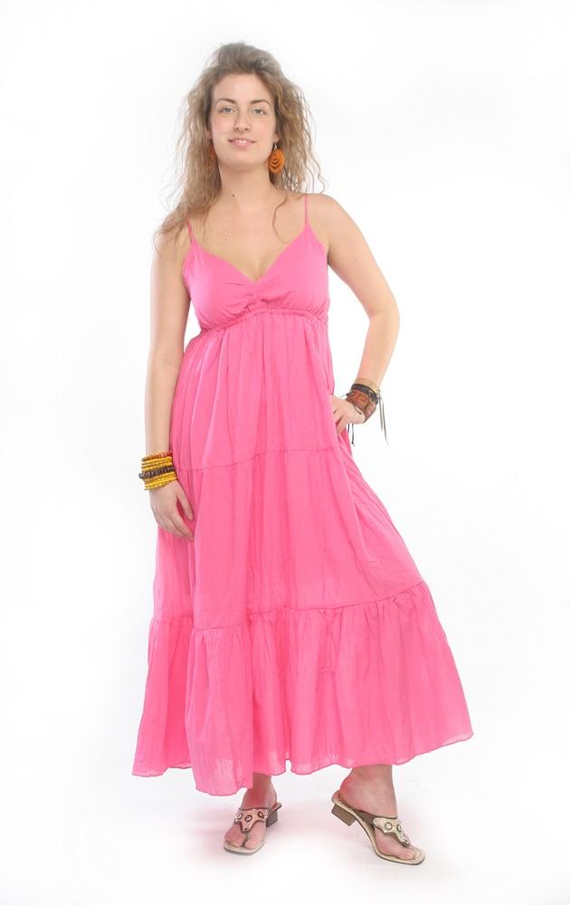 нежное розовое летнее платье для беременных из натурального хлопка